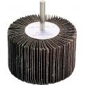 Roue à lamelles sur tige - Ø 60 mm - Grain 60 - SCID