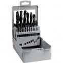 Foret à métaux acier HSS - Coffret de 25 pièces - Riss