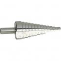 Foret conique à étages - Ø 4 à 12 mm - Riss