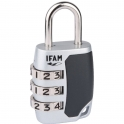 Cadenas à 3 chiffres 25 mm - Ifam