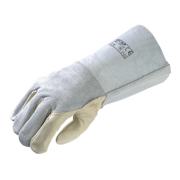 Gant de soudeur - manchette 150 mm - La paire - Taille 10 - Eurotechnique