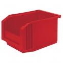 Bac plastique rouge empilable - 3 L - Novap