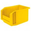 Bac plastique jaune empilable - 3 L - Novap