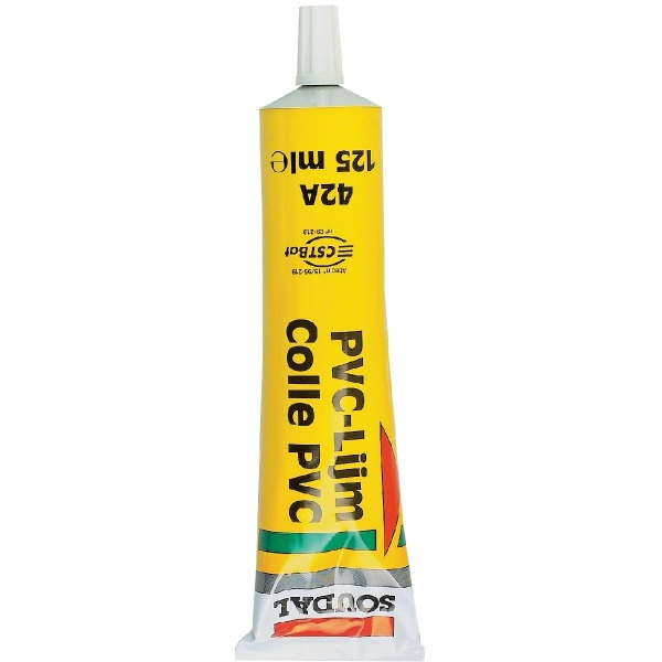Colle PVC - 125 ml - 42A - Soudal
