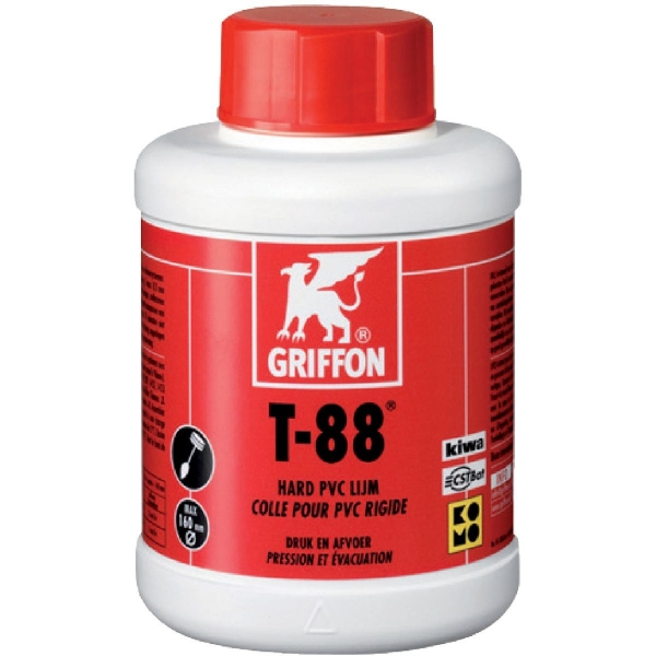 Colle PVC - 100 ml - T 88 - Griffon