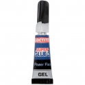 Colle Super Glue 3 en gel - 3 g - Power flex - Loctite