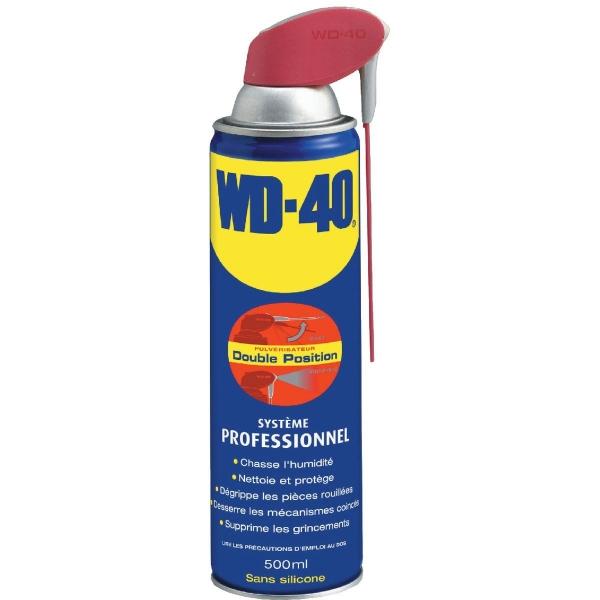 Dégrippant dégraissant - 500 ml - WD 40