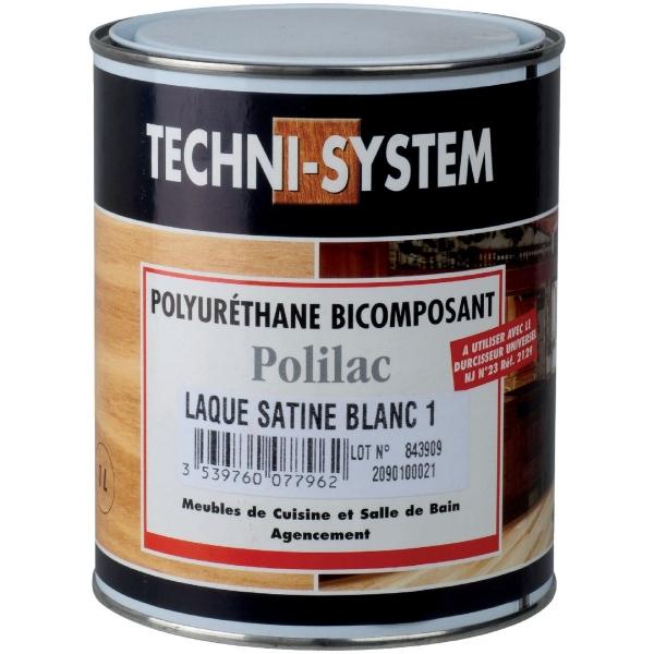 Laque polyuréthane bicomposant - 1 L - Techni-System