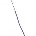 Fil rigide domestique H07 V-U violet - 1,5 mm² - Couronne de 100 m - Sermes