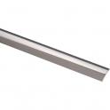 Bande de seuil adhésive - Longueur 0,73 m - Inox poli - Profilpas
