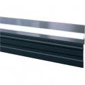 Plinthe aluminium à grande bavette - 2,5 m - Bas de porte de garage - ADS-GL - Ellen