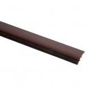 Plinthe brune à brosse souple - 1 m - Bas de porte - PDS-B - Ellen