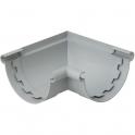 Angle mixte à coller gris - diamètre 25 mm - Girpi