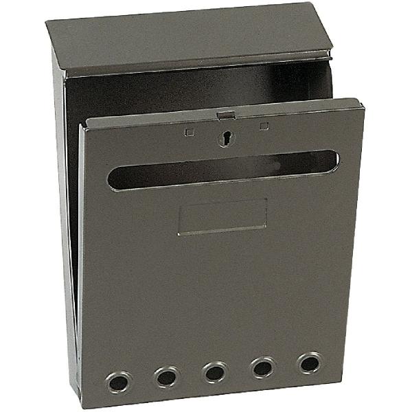 bo te aux lettres marron missive decayeux cazabox. Black Bedroom Furniture Sets. Home Design Ideas