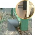 Butée magnétique composite grise - Pose extérieur - Monin