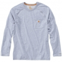 T-Shirt gris manches longues - Force - Taille S - Carhartt
