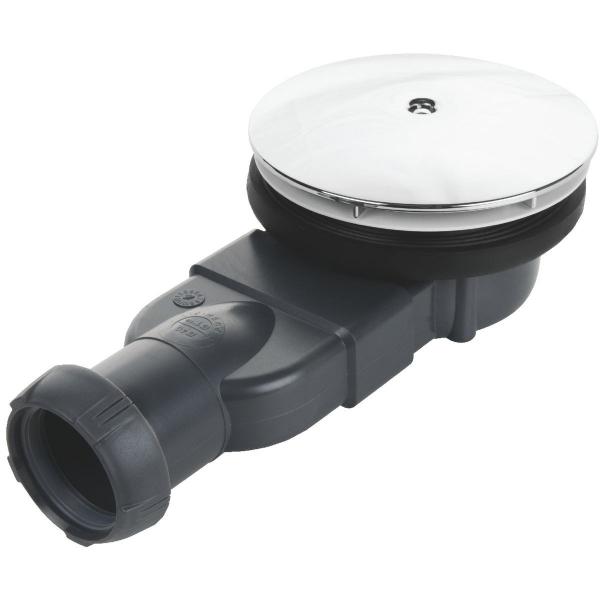 Bonde horizontale pour receveur ø 90 mm extra-plat - Wirquin Pro