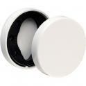 Rosace ronde blanche - Borgne - NY92F et NY94F - La paire - Normbau