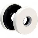 Rosace ronde blanche - Bec de cane - NY92F et NY94F - La paire - Normbau
