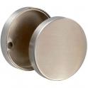 Rosace ronde inox - Borgne - Inox 19 - La paire - Normbau