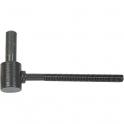 Gond à sceller époxy noir - 70 mm - Axe Ø 16 mm - Vendu par 30 - Torbel industrie