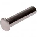 Douille vis de poignée laiton nickelé - Fendue - 4 x 20 mm - Hoppe et cie