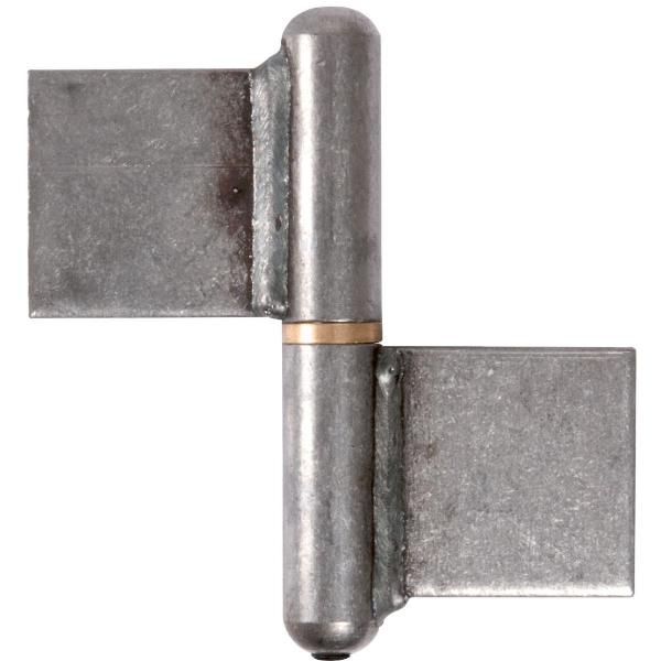 Paumelle à souder - 100 mm - Noeud plat - Torbel industrie