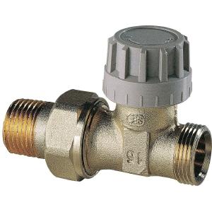 Robinet de radiateur droit thermostatique mâle - Senso - Comap