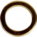 Bague laiton - Ø 11 mm - Pour fiche à visser - Sélection Cazabox