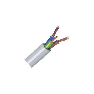 Câble souple domestique H05 VV-F blanc - 4G0,75 mm² - Couronne de 50 m - Lynelec