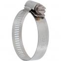 Collier bande perforée W2 inox /acier zingué - 13 mm - Serrage 14 - 22 mm - Boîte de 25 pièces - Ace