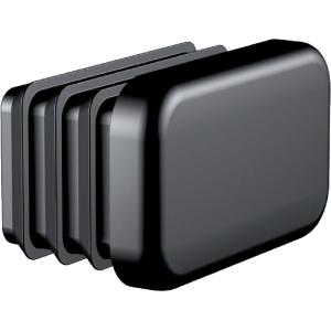 Butée de rail en polypropylène noir Type R8 - Flamco