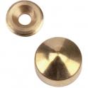 Cache vis poli - Ø 12 mm - marbrier - MOD