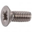 Vis métaux tête fraisé PZ3 - Ø 6 mm - 80 mm - Inox - Boîte de 25 pièces - Viswood