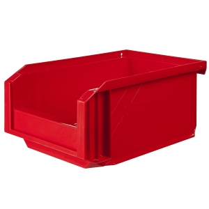 Bac rouge empilable - 1 L - Novap