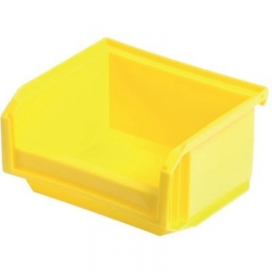 Bac jaune empilable - 0,3 L - Novap