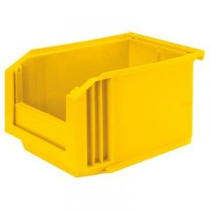 Bac jaune empilable - 11 L - Novap