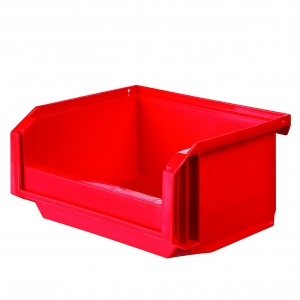 Bac rouge empilable - 0,3 L - Novap