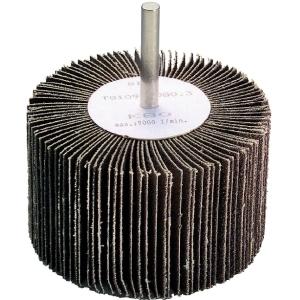 Roue à lamelles sur tige - Ø 80 mm - Grain 120 - SCID
