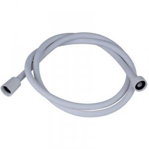 Flexible tressé blanc - 2,5 m - Disflex