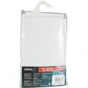 Rideau polyester Blanc Sealskin sans anneaux - 180 x 200 - Sélection Cazabox