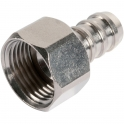 "Raccord droit - F 1/2"" - Flexible polyester pression au mètre - Sélection Cazabox"