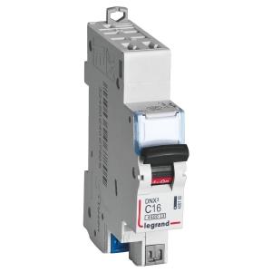 Disjoncteur vis / vis DNX3 4500 - départ - 4,5 kA - courbe C - 2 A - Legrand