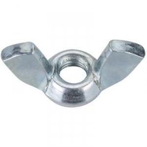 Écrou à oreilles zingué - Ø 6 mm - Boîte de 200 - Viswood