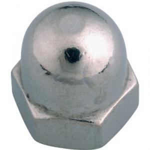 Écrou borgne Inox - Ø 6 mm - Boîte de 200 - Viswood
