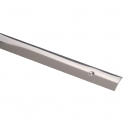 Bande de seuil percée - Longueur 2,7 m - Inox poli - Profilpas