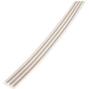 Joint adhésif nervuré blanc - longueur 15 m - Caoutchouc - Ellen