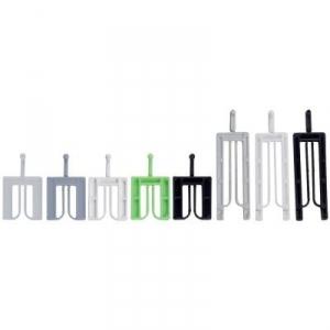 Cale de vitrage blanche - 40 x 36 mm - 3 mm - klic-clac - Sachet de 1000 - Goettgens