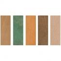 Cale de vitrage marron - 70 x 25 mm - 4 mm - Sachet de 100 - Goettgens
