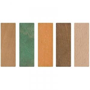 Cale de vitrage orange - 70 x 25 mm - 3 mm - Sachet de 100 - Goettgens